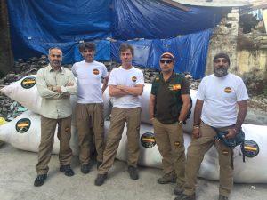 Miembros de Guardias Civiles Solidarios
