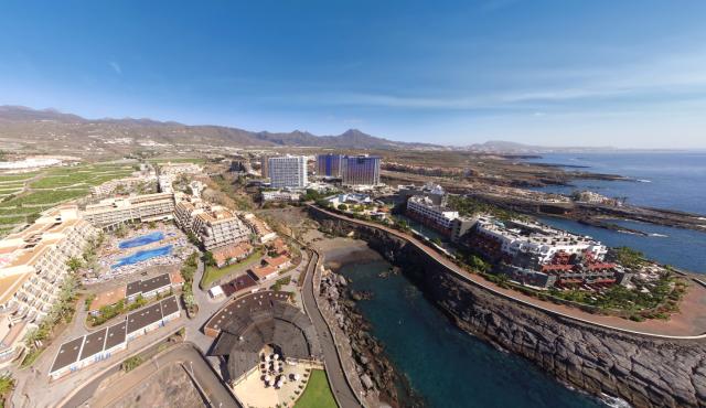 fotografía aérea Teidecopter