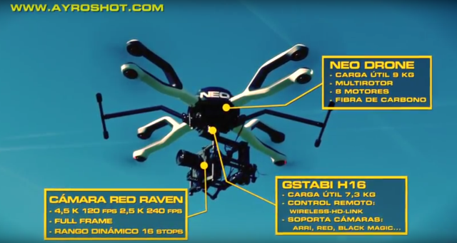 Dronepedia vídeo aéreo